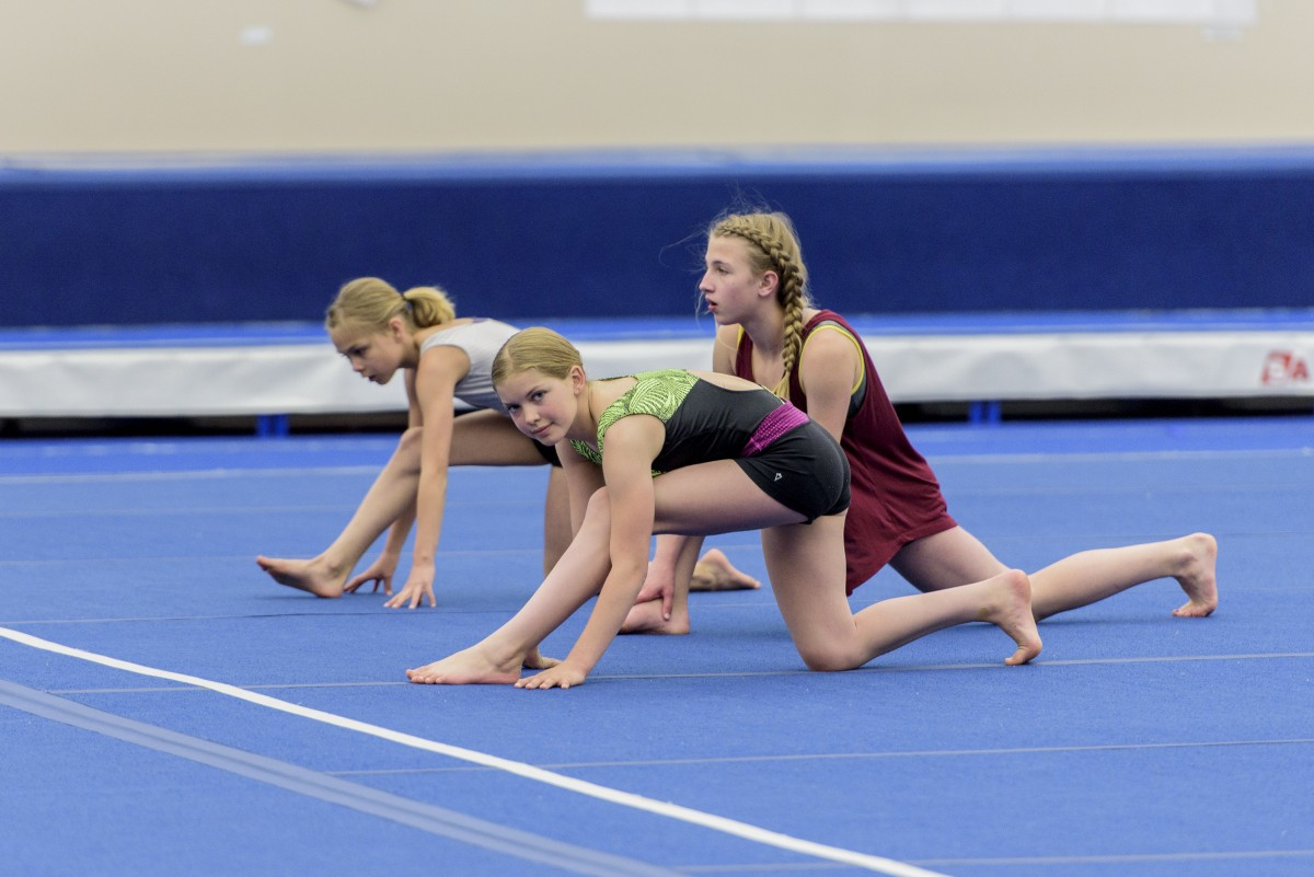 Remarkable, Girl gymnastics teen congratulate, the